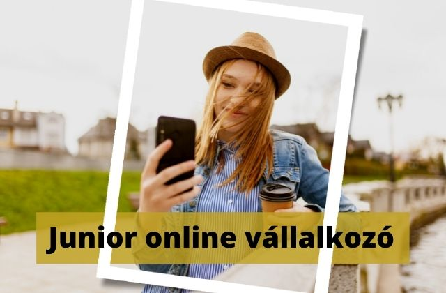 Junior online vállakozó képzés