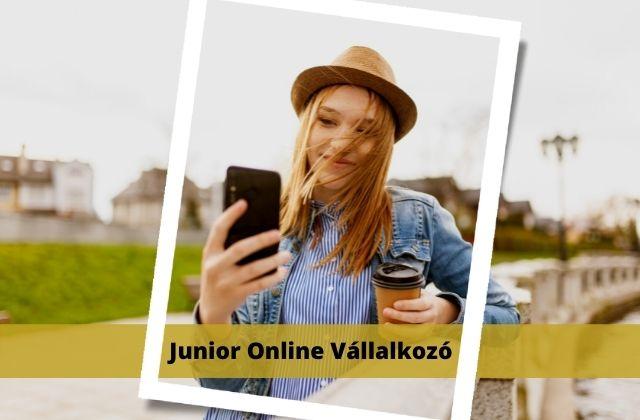 Junior online vállakozó tanfolyam