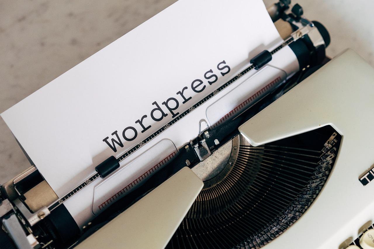 WordPress Extra Haladó képzés íroógép